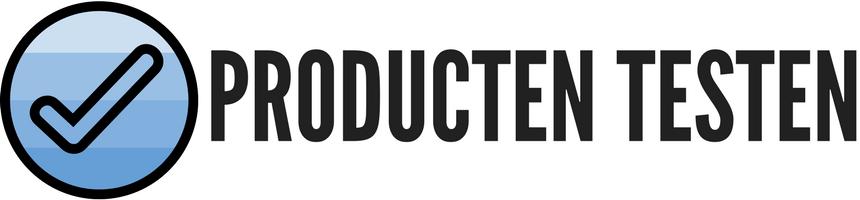 Producten testen banner
